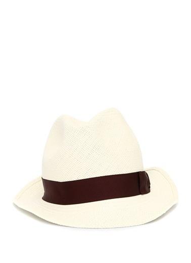 Borsalino Şapka Beyaz